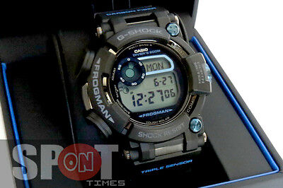 Casio G-Shock Master of G Frogman Multi Band 6  Men's Watch GWF-D1000B-1