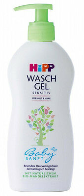 HIPP - Wash Gel - Skin & Hair - 400 ml - German Product