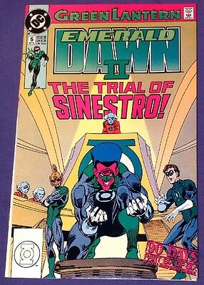 GREEN LANTERN: EMERALD DAWN II 6 September 1991 8.0-8.5 VF/VF+ DC COMICS