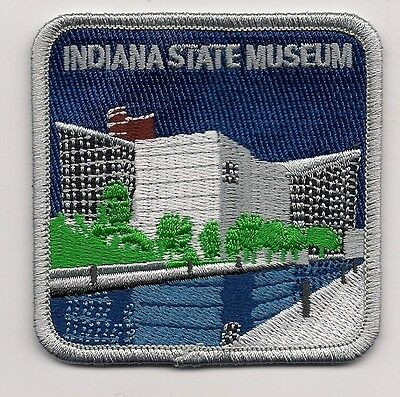 Souvenir Patch - Indiana State Museum, Indianapolis