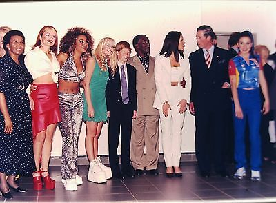 PRINCE CHARLES & THE SPICE GIRLS in South Africa - Original 35mm COLOR Slide