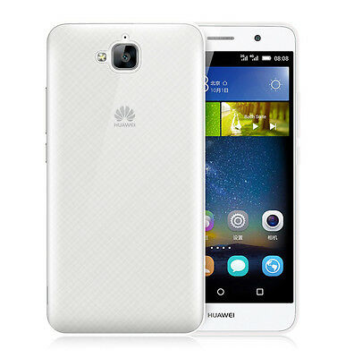 2x Ultra Thin Glossy Clear Gel Skin Case Back Cover For Huawei Honor 4C Pro