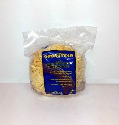 Lot of 480 Pieces - GOODYEAR NATURAL SUPER DRYING CHAMOIS BALLS