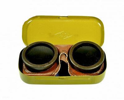 NEW Genuine Soviet USSR Russian Forсes Mountain Sniper Goggles Glasses WW2