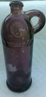 Rare Purple Amethyst Purple Xoriguer Mahon Gin Bottle