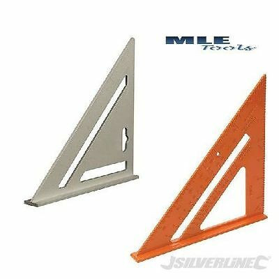 Silverline Heavy Duty Aluminium Roofing Rafter Square 185 mm 734100 734110