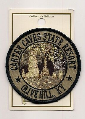 Souvenir Patch - Carter Caves State Resort, Olive Hill Kentucky