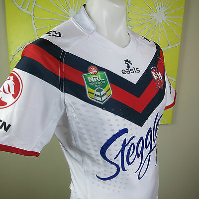 SYDNEY ROOSTERS  AWAY  JERSEY PLAYER ISSUED  w GRIPS NYC Men Pick your size