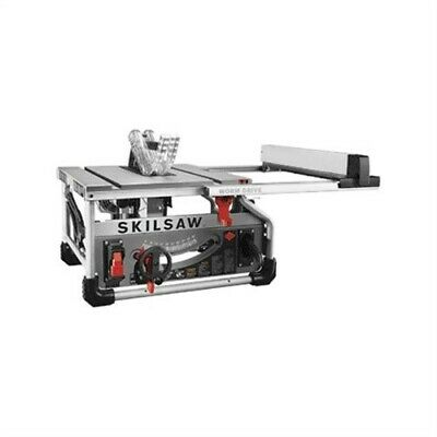 "SKILSAW 10"" WORM DRIVE TABLE SAW W/3T SKIL CARBIDE TIPPED BLADE, PT No SPT7WT-1"
