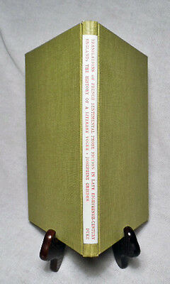 French Sentimental Prose Fiction in Late 18th-Century England/Nice 1975 Hardback