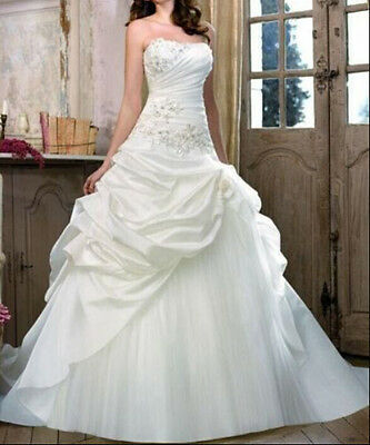 688  Abiti da Sposa vestito nozze sera wedding evening dress