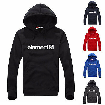 Men's Slim Jumper Pullover Hoodie Warm Hooded Sweatshirt Coat Sweater Outwear
