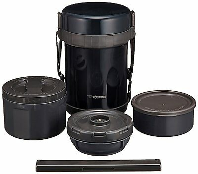 Zojirushi Stainless Lunch Jar SL-GG18-BD Navy Black