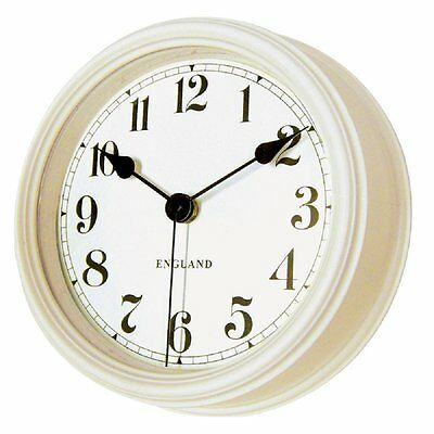 Carnac Antique flavor wall clock United Clock (No tick-tock sound) CR-PL02 Ivory