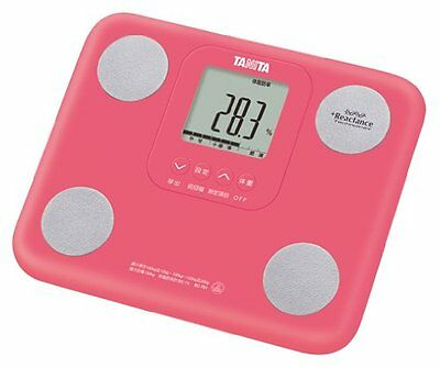 TANITA BC-751-PK Body Composition Diet Monitor 5 colors Pink