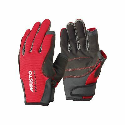 Musto Essential Sailing Gloves - Red