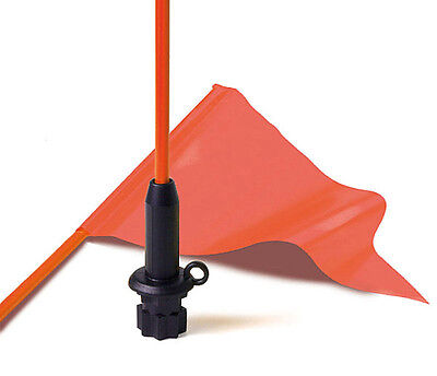 Railblaza Kayak Flag Whip & Pennant - Black Base