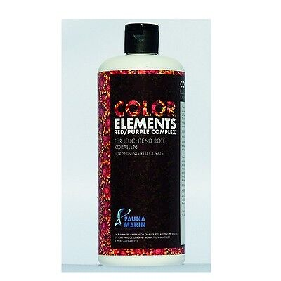 Fauna Marin Color Elements Red Purple Complex 500ml Spurenelemente