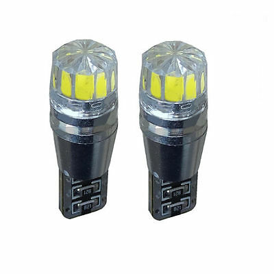 2 X Error Free Canbus 501 Smd Led Sidelight White Bulbs Xenon T10 W5W194Hid Cree
