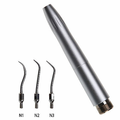NSK Style Dental Air Scaler Handpiece Sonic Perio Hygienist 2H with 3 tips CE UK