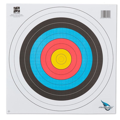 Archery Heavy Duty Fita Approved Paper Target Set 40Cm X 40Cm - 12Pk