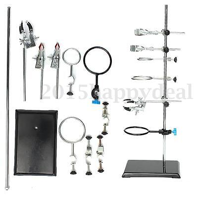 600mm Lab Stands,Support Lab Clamp Flask Clamp Condenser Clamp Stand Cilp Set