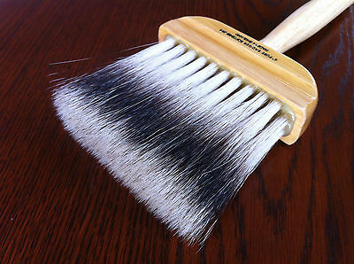 Badger Hair Softener / Softening Faux Finish Brushes. British Made