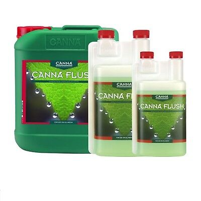 Canna Flush 1L 5L 250ML Clears Excess Nutrients Hydroponic