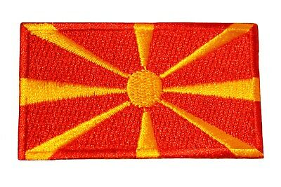 TOGO COUNTRY FLAG IRON-ON PATCH CREST BADGE 1.5 X 2.5 INCH