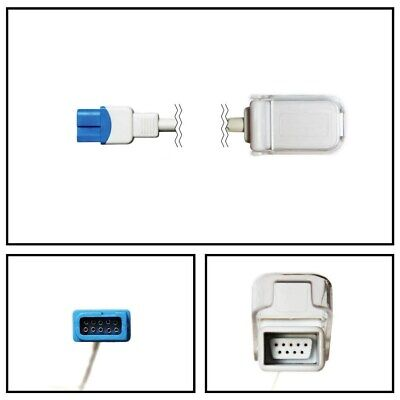 PM Spacelabs Ultraview 10 Pin to DB9 9 Pin SpO2 Extension Cable