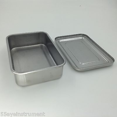"""Stainless steel Instruments tray case 6"""" sterilization tray surgical instrument"""
