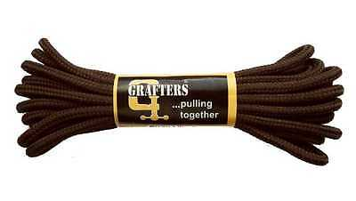 Grafters Strong Boot Shoe Round Laces 90cm BROWN