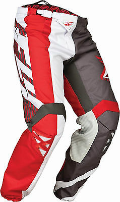 Fly Racing Kinetic Division Red Dirt Bike Motocross Riding Pants Gear MX/ATV