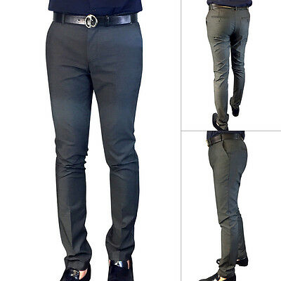 Rock & Salt Men's Slim Fit Dress Pants- Grey • $15.99 - PicClick