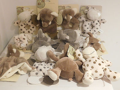 Brand New Baby Elli & Raff Comforter,Soft Toy Teether Ring Rattle & Lots More