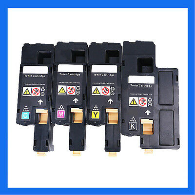 4 x Toner Cartridges For Xerox phaser 6010 6000 Workcentre 6015 6015V