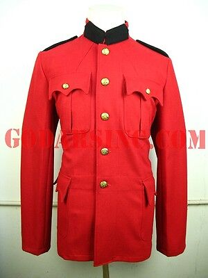 WWI-WWII Pattern CanadianMP Red Srege Servie Dress Tunic XL