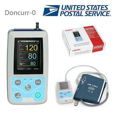 CE&FDA Handheld Ambulatory blood pressure monitor 24hours dynamically+ software