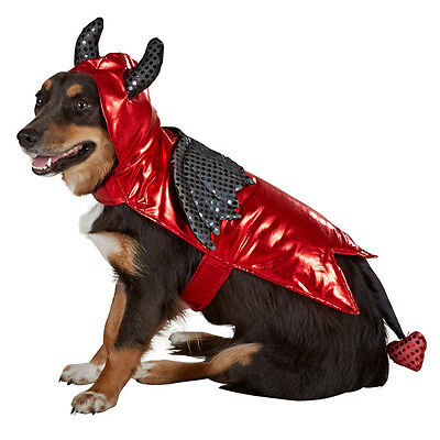 Devil Halloween Dog Pet Costume Medium (New with Tags)