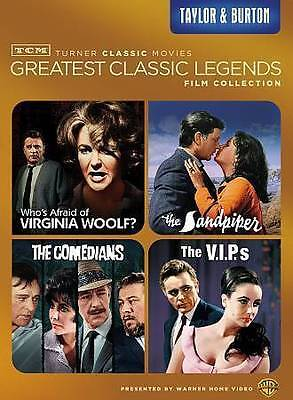 TCM Greatest Classic Films Legends Taylor & Burton (DVD) *New,Sealed*