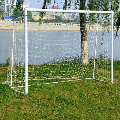 New Football Soccer Goal Post Nets 1.8x1.2M for Sports Training Practise 6 x 4F