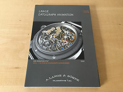 DVD-PAL - A. LANGE & SÖHNE - Lange Datograph Animation - For Collectors