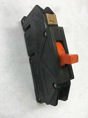Zinsco 20A 20 Amp Single Pole Circuit Breaker Orange 120V GTE Sylvania Magnetrip
