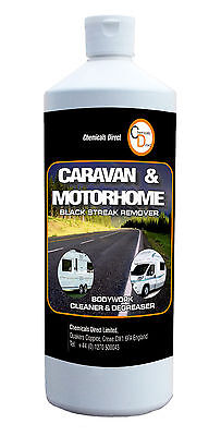 Chemicals Direct Caravan Motorhome Black Streak Remover cleaner degreaser 1 LTR