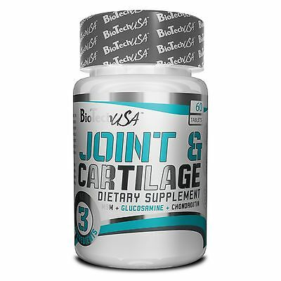 BioTech USA Joint & Cartilage 60 Tabs - With GLUCOSAMINE, CHONDROITIN & MSM