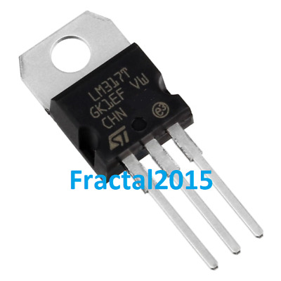 10X LM317T LM317 to - 220ab 1.2 V - 37 V 1.5A