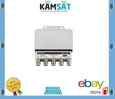 4 WAY SPLITTER DiSEqC SWITH HIGH QUALITY SKY VIRGIN FREEVIEW NC+ OPTICUM 3dB