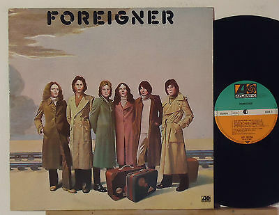 Foreigner : Foreigner    -    1977  Lp  Germany