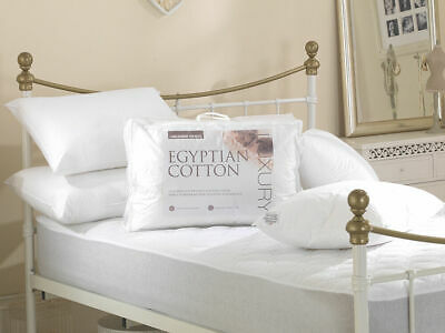 Luxury High Quality Egyptian Cotton Hollowfibre Filled Pillows