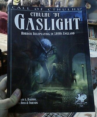 Call of Cthulhu Cthulhu By Gaslight Third Edition Chaosium